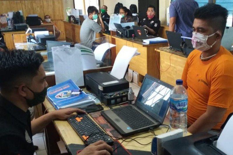Polrestabes Medan bekuk seorang pemuda pengedar narkoba