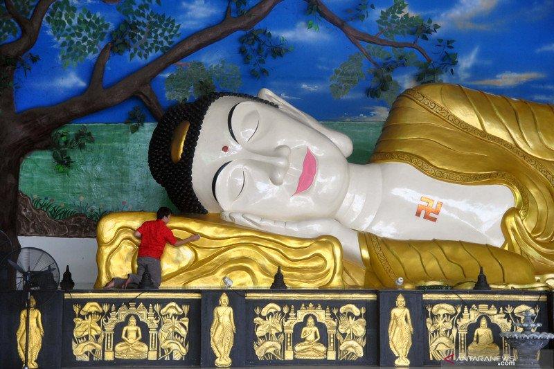 Vihara Patung Buddha Tidur tidak akan gelar aktivitas keagamaan di Hari Raya Waisak besok