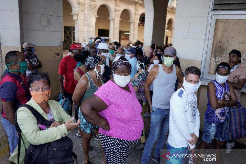 Kasus COVID melonjak, Kuba berlakukan jam malam di Havana