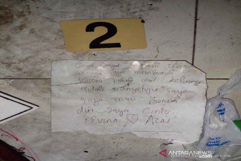 Polisi temukan 'surat cinta' dalam penemuan mayat perempuan di kardus