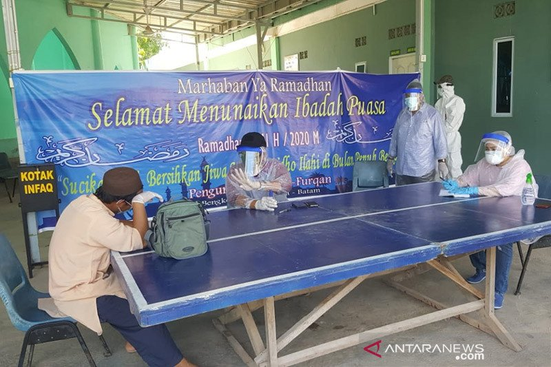 Rusun BP Batam mulai tampung warga positif COVID-19