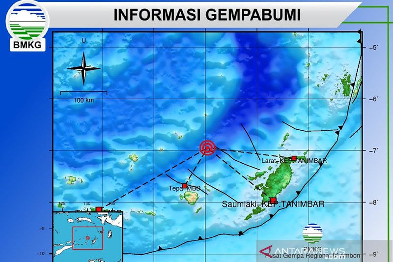 "Gempa Laut Banda terjadi di ""sarang"" gempa kuat"