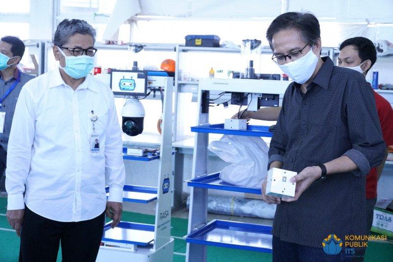 Menristek: Robot RAISA bantu tenaga medis tangani pasien COVID-19