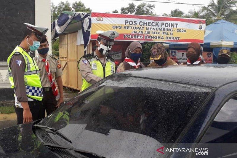 Cegah COVID-19, Polisi Bangka Barat perketat pengawasan di perbatasan