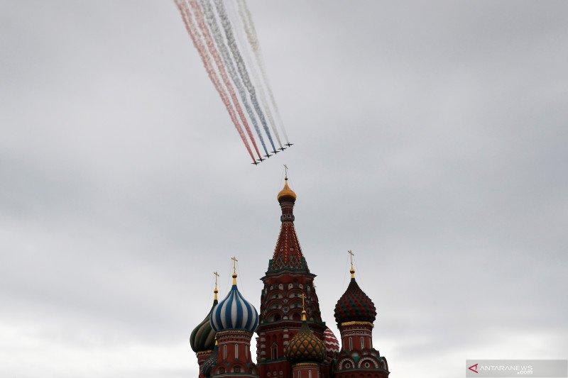 Parade peringatan Victory Day di Moskow
