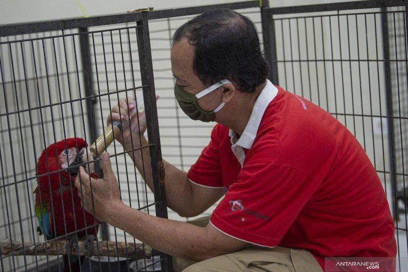 Taman burung TMII butuh donasi pakan