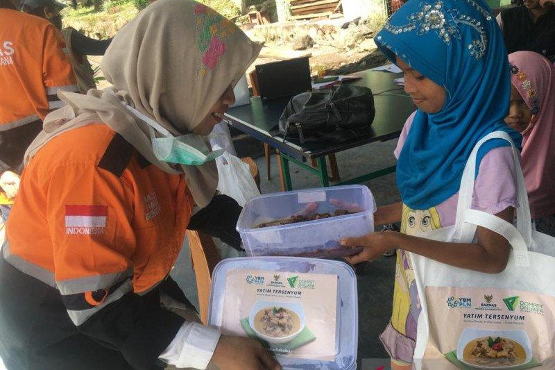 Baznas bersinergi bagikan paket makanan di tengah pandemi COVID-19