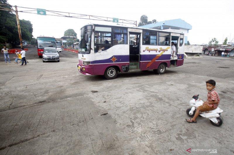 Kondisi terminal bus Baranangsiang