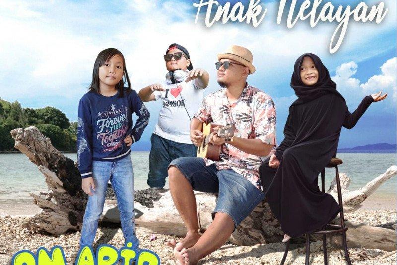 "Gandeng musisi cilik Pulau Lombok, Om Apip rilis album ""Anak Nelayan"""
