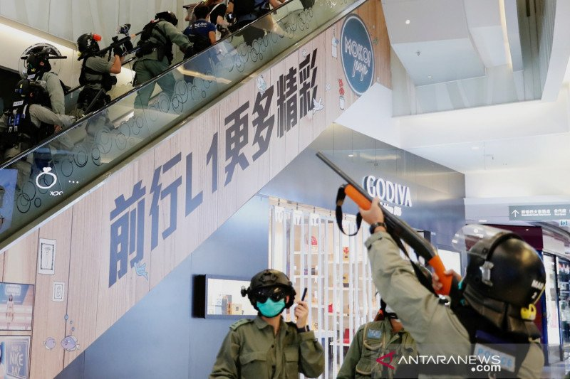 China sahkan aturan keamanan, aktivis ajak warga Hong Kong unjuk rasa