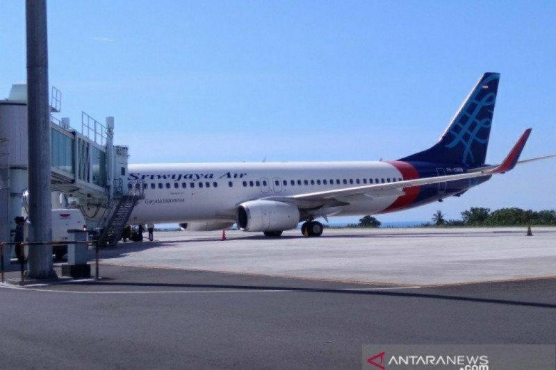 Hari ini Sriwijaya Air operasikan kembali rute penerbangan domestik