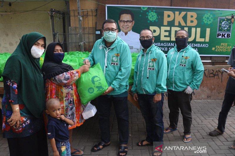 Salurkan sembako dari Cak Imin, DPP PKB temukan warga tak terdata