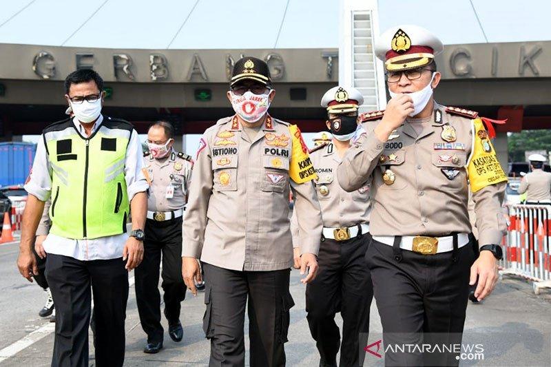 Polisi siapkan 77 pospam di tempat wisata hingga pusat ekonomi