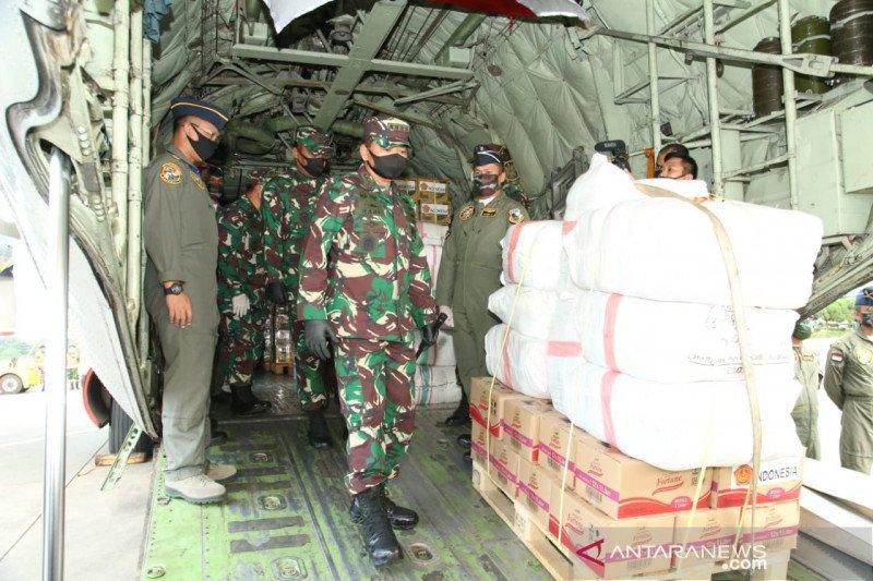 TNI kirim 12,9 ton bantuan kepada korban topan Harold di Fiji