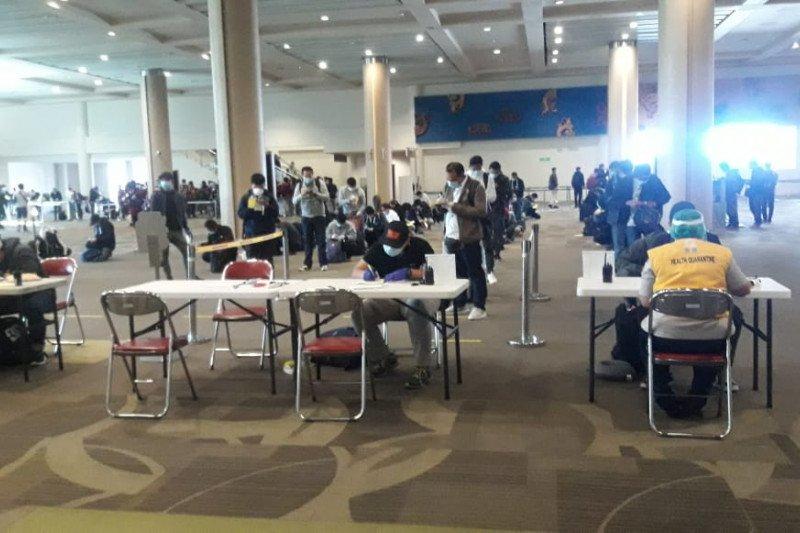 242 pekerja migran Indonesia tiba di Bandara I Gusti Ngurah Rai