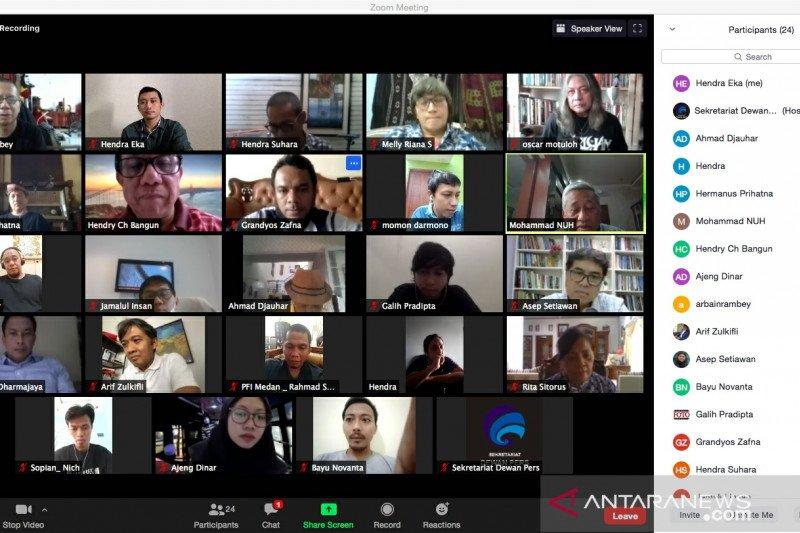 Dewan Pers resmikan Pewarta Foto Indonesia sebagai konstituen baru