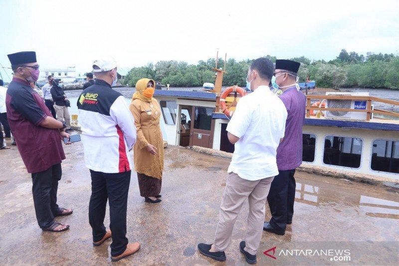 Pemkot Tanjungpinang terima hibah KM Banawa Nusantara dari Kemenhub