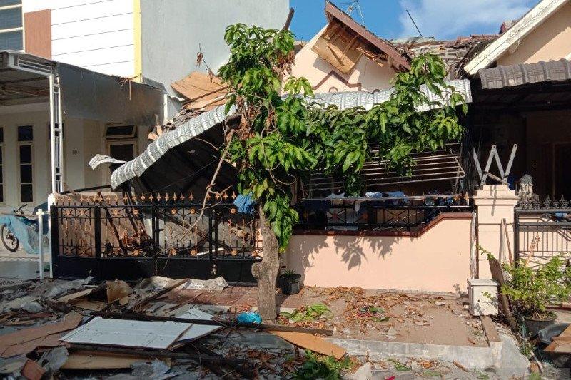 Satu orang alami cedera akibat ledakan di Kompleks Cemara Asri Sumut