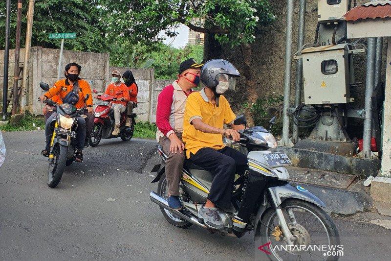 Satpol PP Setiabudi baru berikan teguran tertulis bagi pelanggar PSBB