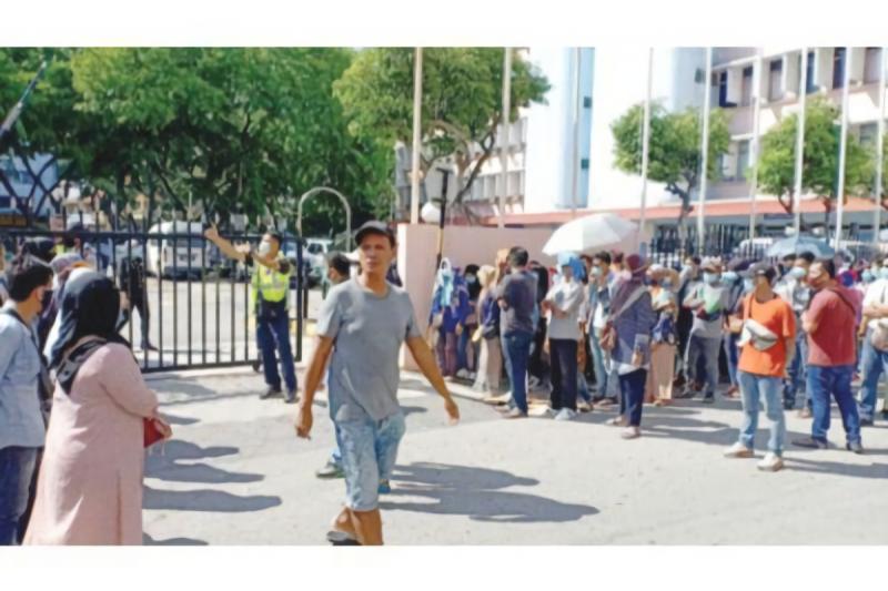 421 WNI ilegal ditahan di Malaysia