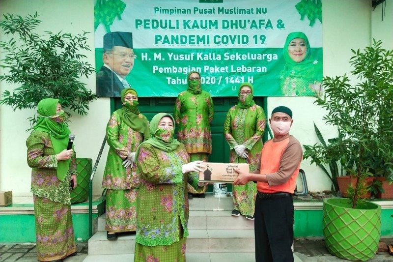 Muslimat NU bagikan paket Lebaran ke warga terdampak COVID-19