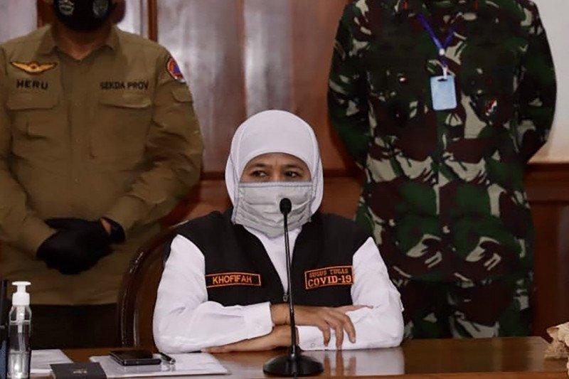 Gubernur Jatim kaji penerapan PSBB regional