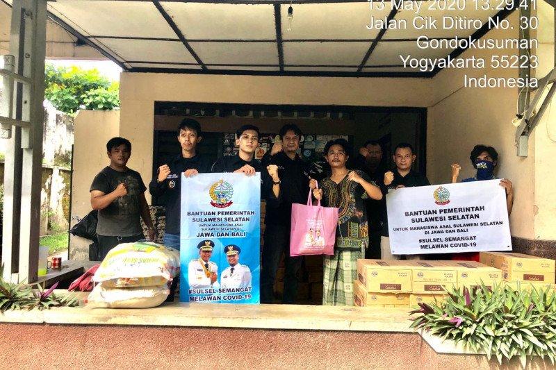 Sulsel salurkan 844 paket ke mahasiswa di Jawa dan Bali