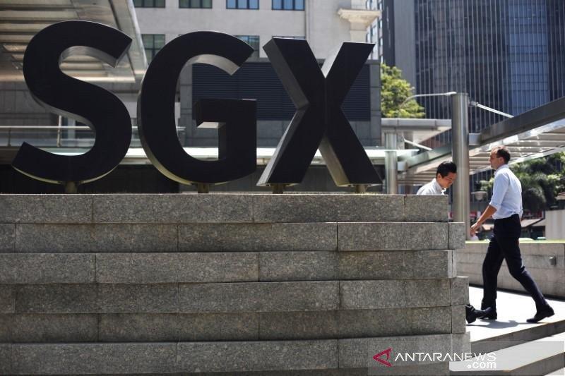 Saham Singapura berakhir naik 0,87 persen