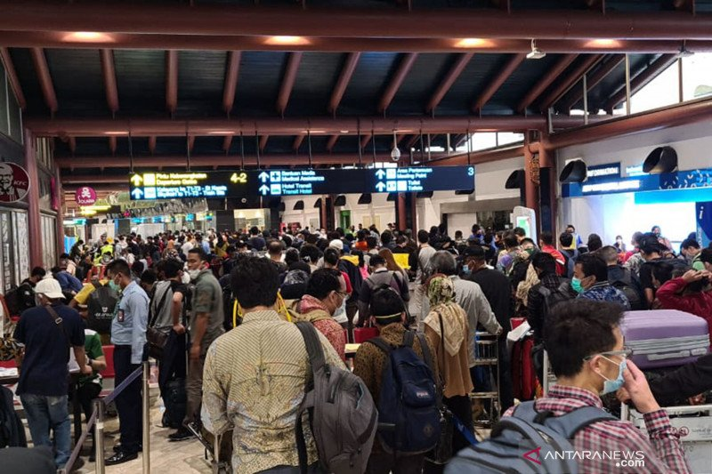 AP II catat pergerakan penumpang naik 143 persen Juli 2020