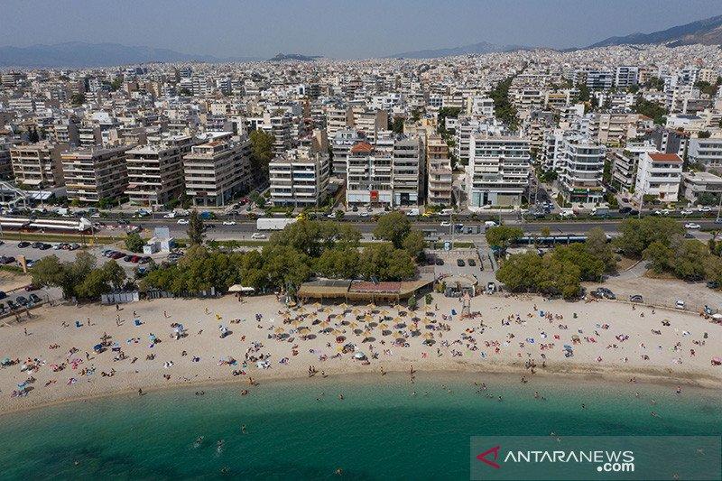 Pelonggaran karantina wilayah di sejumlah pantai Yunani