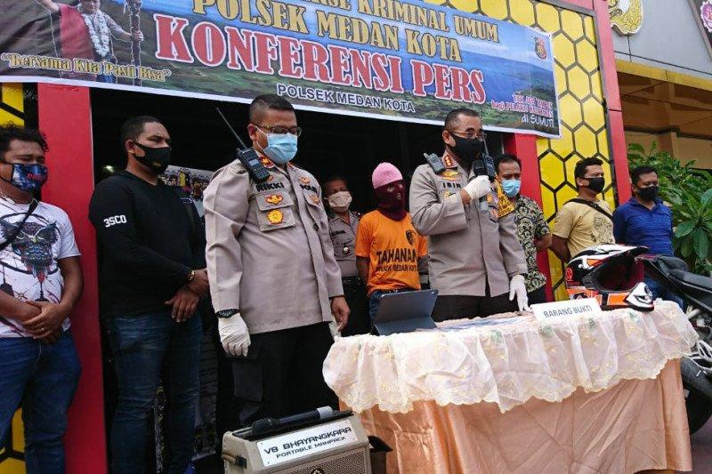 Polisi tembak mati satu tersangka pelaku pencurian kendaraan di Medan