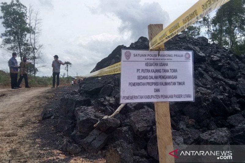 Operasi tambang batu bara tanpa izin di lokasi ibu kota dihentikan