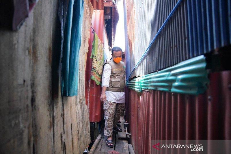 Wagub Sulsel susuri lorong pastikan kondisi warga terdampak COVID-19