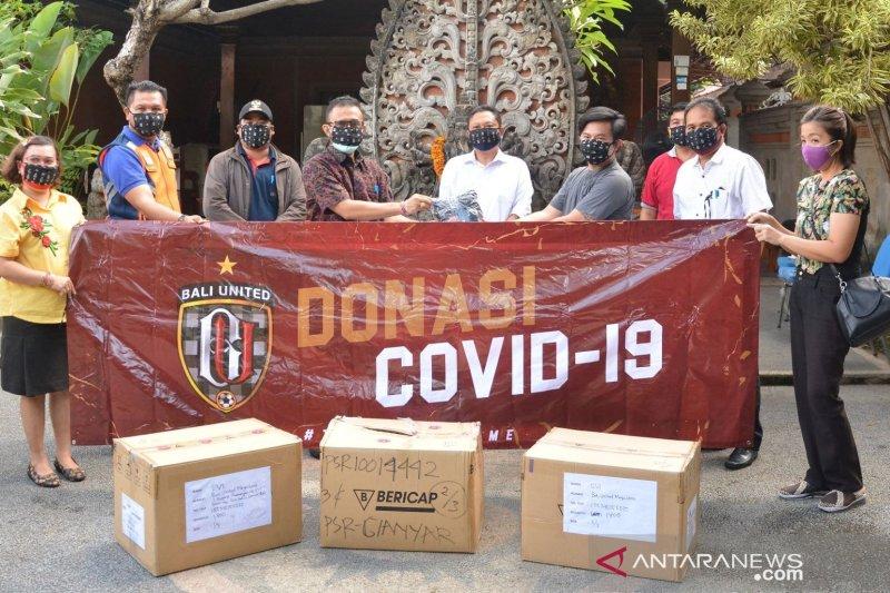 Bali United serahkan bantuan masker ke Pemerintah Kota Denpasar