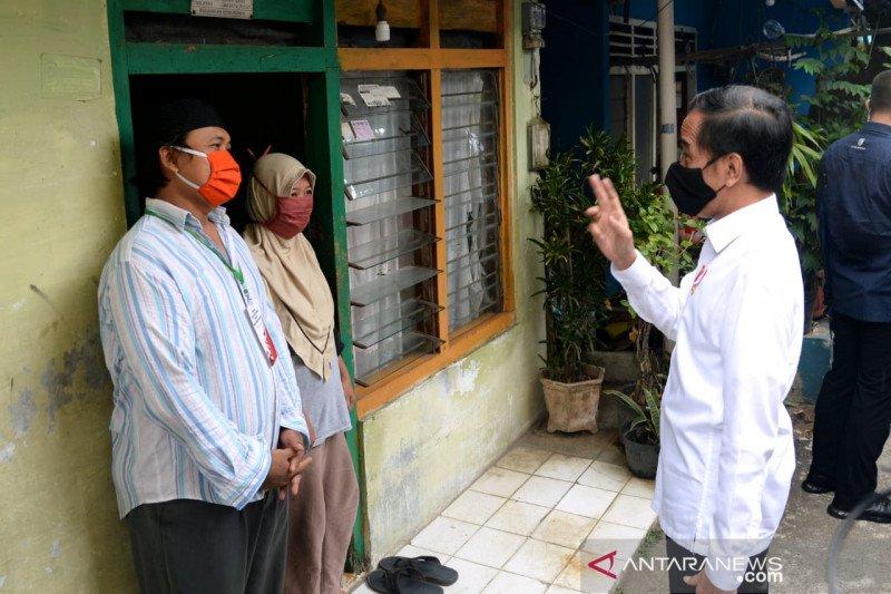 Presiden Jokowi tegaskan belum ada pelonggaran PSBB