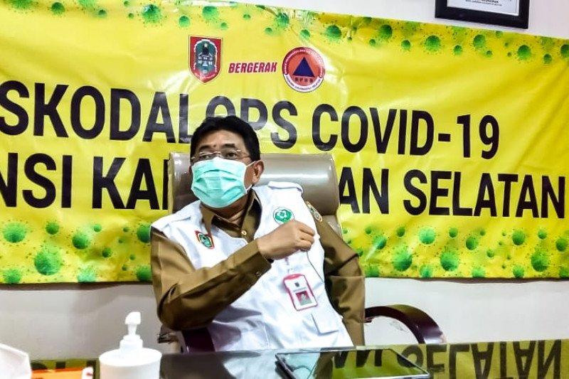 Kasus COVID-19 Kalsel capai 438 orang 45 meninggal