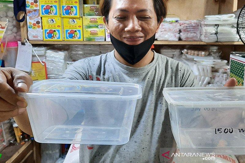 Penjualan kontainer plastik di Jaksel 'booming' sejak pandemi COVID-19