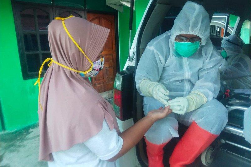 518 warga Kabupaten Jayapura jalani tes cepat COVID-19