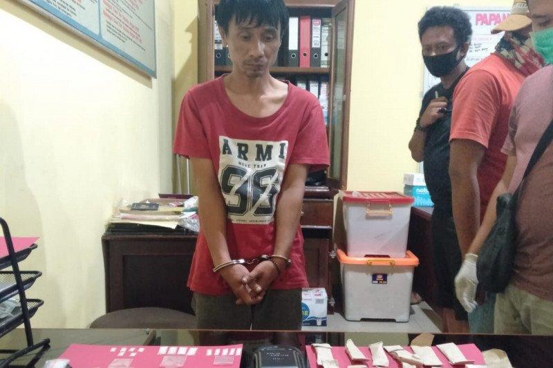 Polres Pesisir Selatan tangkap dua orang terkait kepemilikan narkoba