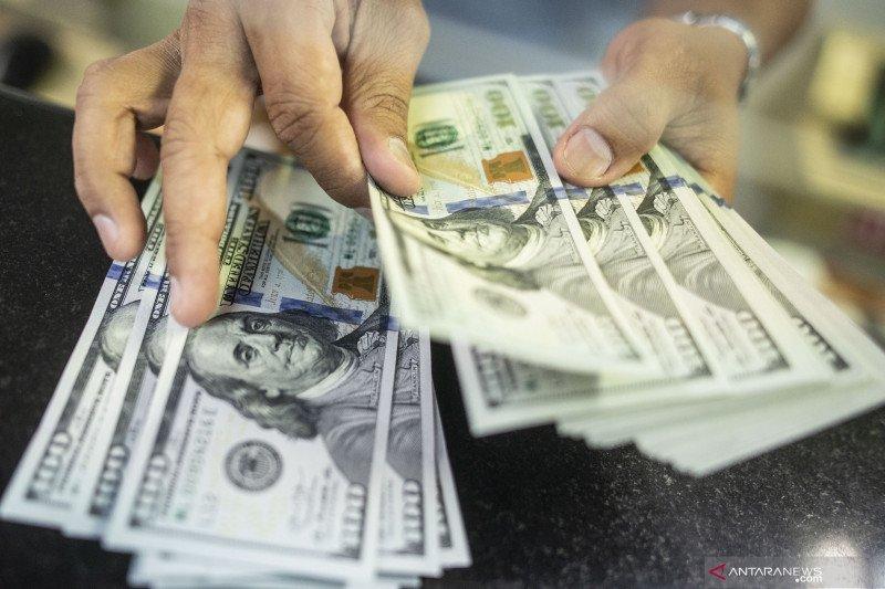 Rupiah menguat seiring membaiknya defisit neraca transaksi berjalan