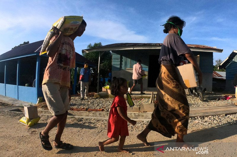 Bantuan logistik dan alat kesehatan untuk Orang Rimba Jambi