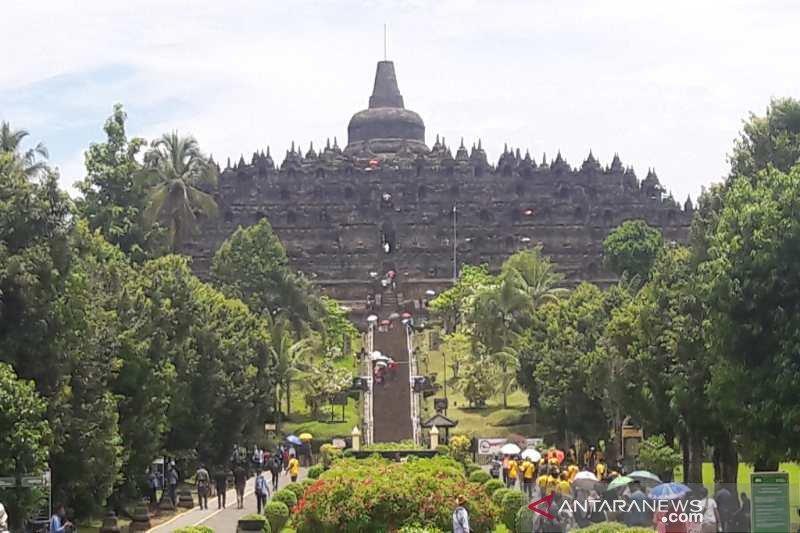 Gubernur Jateng izinkan pengelola Candi Borobudur simulasi normal baru