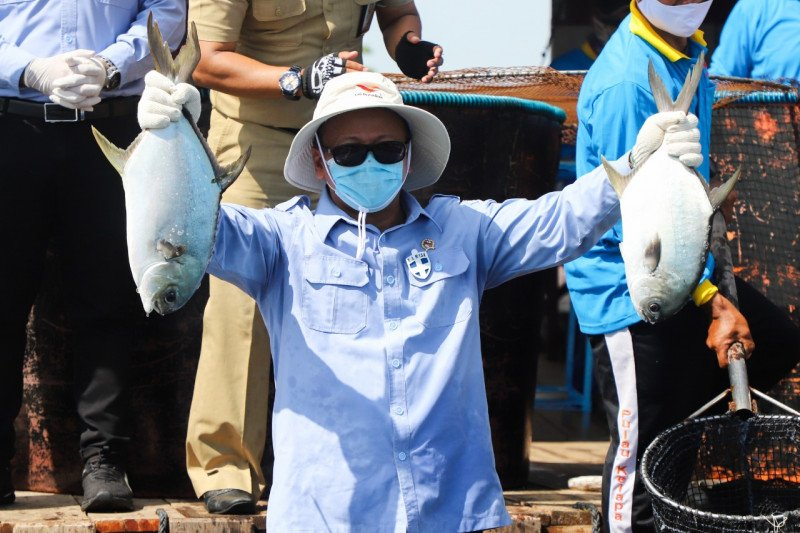 Menteri Edhy ingatkan makan ikan tingkatkan imunitas