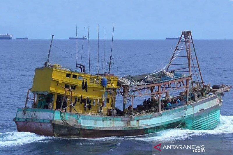 Hari Kebangkitan Nasional, KKP tangkap dua kapal asing