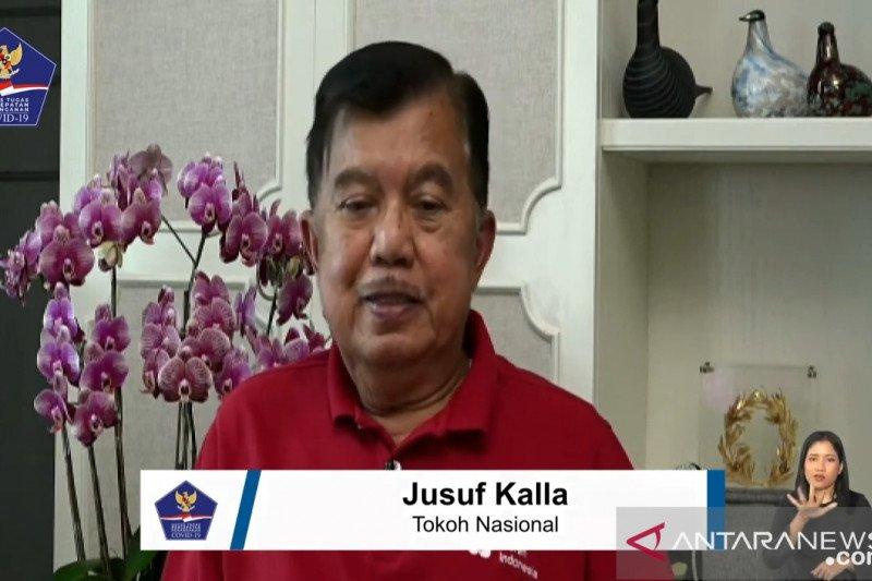 Jusuf Kalla: Indonesia harus bersatu melawan COVID-19