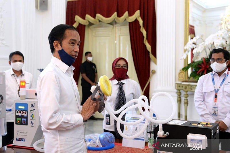 Presiden minta perhatian khusus pada tingginya kasus COVID-19 di Jatim