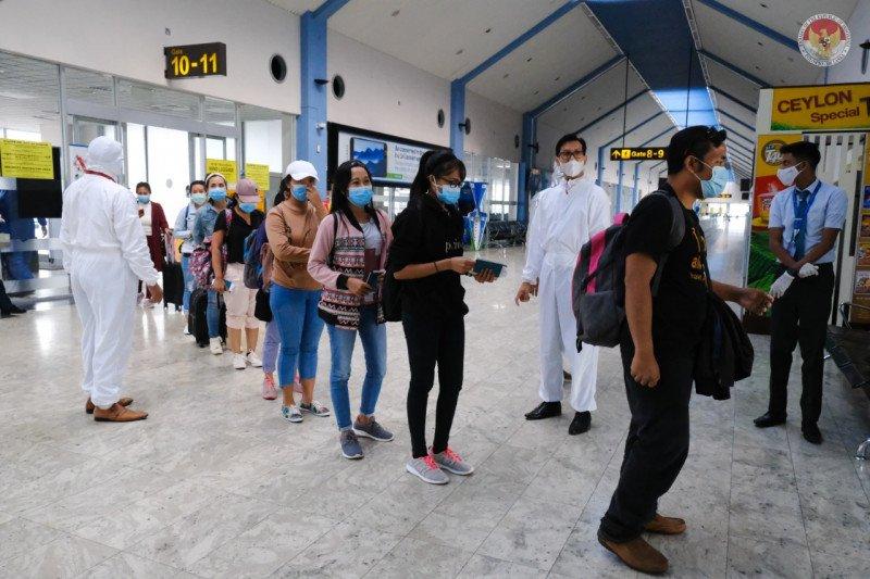 Jelang Lebaran, KBRI Colombo pulangkan 211 WNI ke Tanah Air