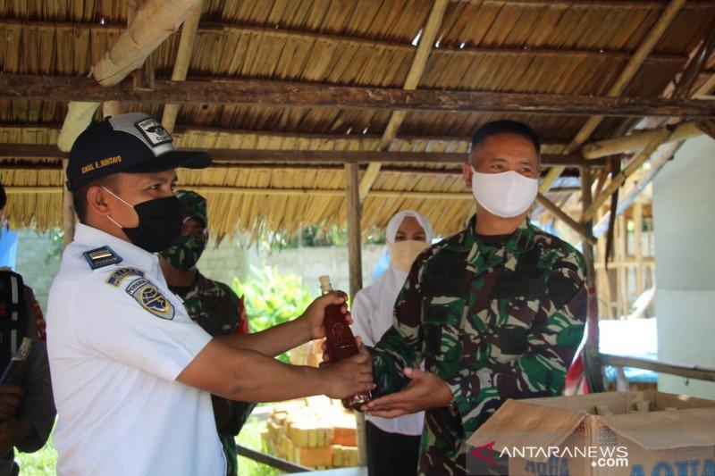 Danrem 133 tinjau Pos Batas Atinggola perketat pintu masuk Gorontalo