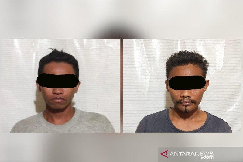 Dua buruh curi sepeda motor ditangkap