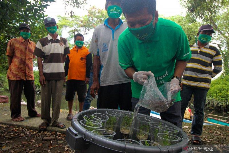 Pelatihan budidaya ikan dalam ember untuk nelayan